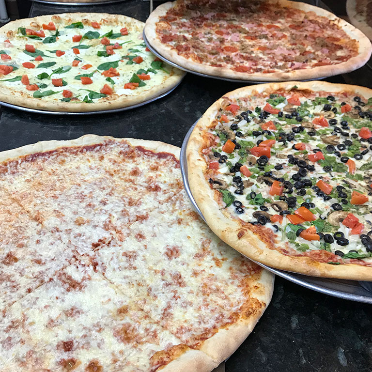 new york pizza company variety toppings